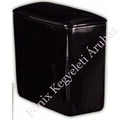 Egyszerű mázas fekete, ikerurna