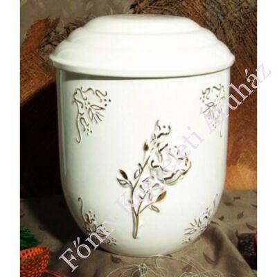 Vanda kerámia urna rózsával